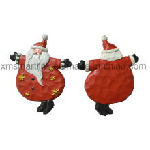 Resin Figurine Santa Hanging Decoration